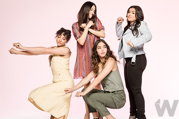 Mishel Prada, Maria-Elena Laas, Melissa Barrera, and Chelsea Rendon, Vida
