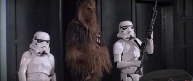 wookie prisoner gag solo a star wars story recycled moments