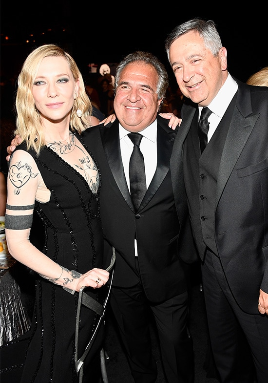 Cate Blanchett, Jim Gianopulos, Tony Vinciquerra Sony