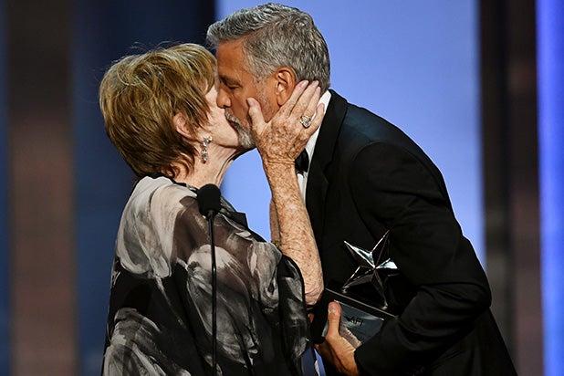 Shirley Maclaine George Clooney