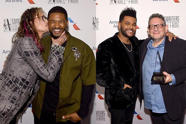 Steven Tyler, Usher, The Weeknd Sir Lucian Grange