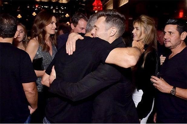 George Clooney Ryan Seacrest