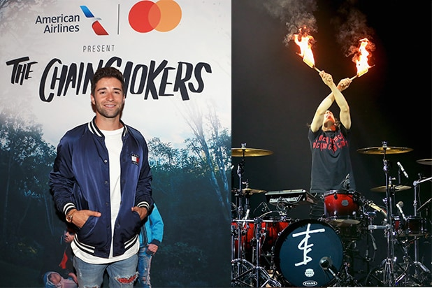 Jake Miller, Chainsmokers Drummer Matt McGuire