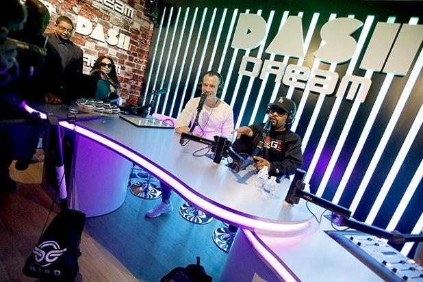 Ice Cube DJ Skee Dash Radio Studio Dream Hotel Hollywood