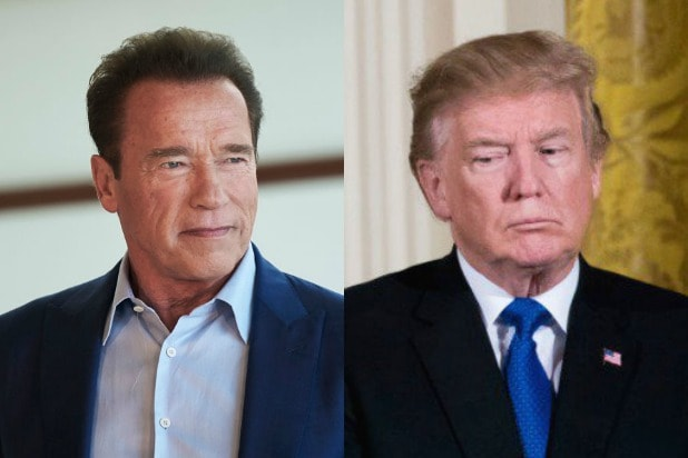 Arnold Schwarzenegger Donald Trump
