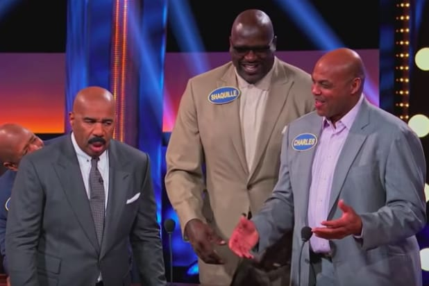 Charles Barkley on 'Celebrity Family Feud'