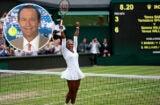 Cliff Drysdale Serena Williams Wimbledon