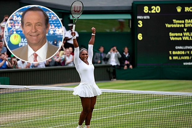 Cliff Drysdale Serena Williams Wimbledon