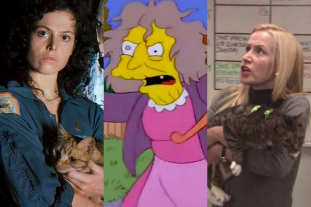 Crazy Cat Ladies in Movies and TV