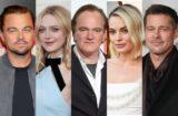 DiCaprio Fanning Tarantino Robbie Pitt