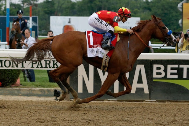 Justify 150th Belmont Stakes Triple Crown