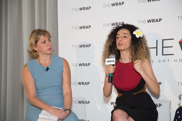 Sharon Waxman and Masih Alinejad, Power Women Breakfast D.C.