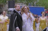 James Corden and Josh Gad in 'Crosswalk the Musical'