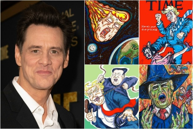 41 of Jim Carrey's Trump Trolling, Politically-Charged
