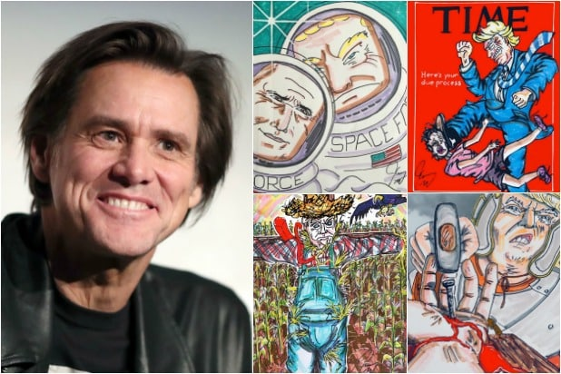 Jim Carrey Art