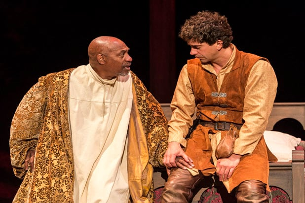 Joe Morton, Hamish Linklater Henry IV
