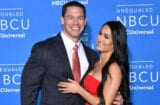 John Cena and Nikki Bella at NBCUniversal upfront