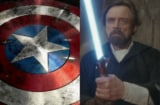 Luke Skywalker Captain America Mark Hamill Chris Evans