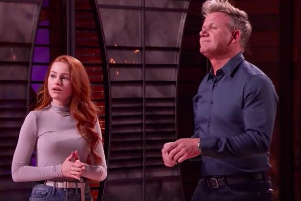 Gordon Ramsay Faces Madelaine Petsch in 'MasterChef' Vegan Cookoff