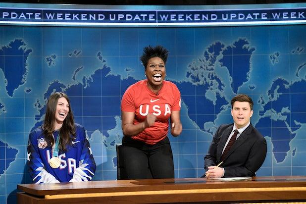 Leslie Jones Saturday Night Live