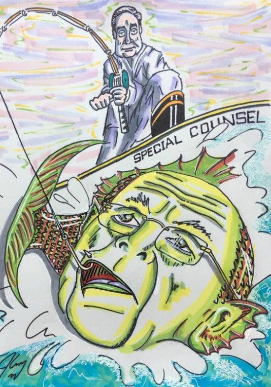 Jim Carrey artwork