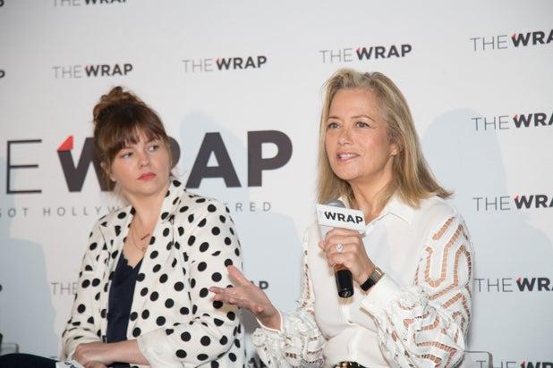 Amber Tamblyn and Hilary Rosen, Power Women Breakfast D.C.