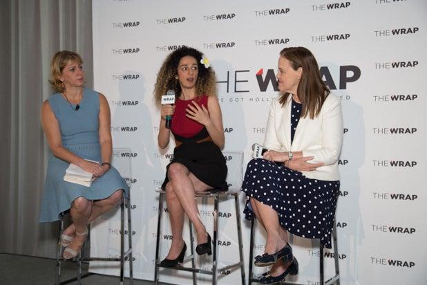 Sharon Waxman, Masih Alinejad and Michele Flouroy, Power Women Breakfast D.C.