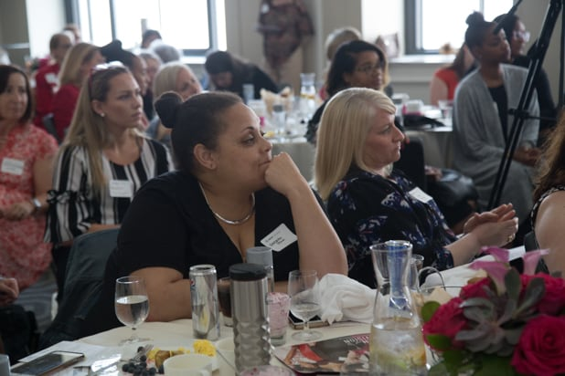 Kendrah Polk at the Power Women Breakfast DC, photographed by E. Brady Robinson for TheWrap