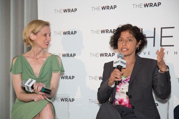Monica Hesse and Sharyn Tejani, Power Women Breakfast D.C.