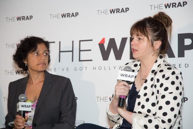 Amber Tamblyn Author And Actress, Power Women Breakfast DC Photographed by E. Brady Robinson for TheWrap