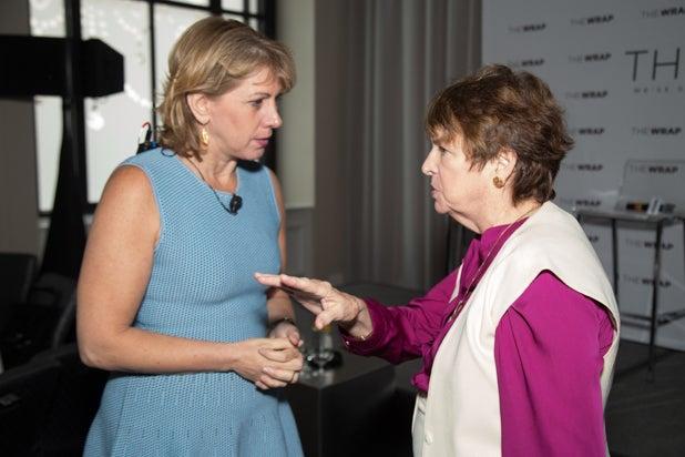 Sharon Waxman and Michal Carr, Power Women Breakfast D.C.