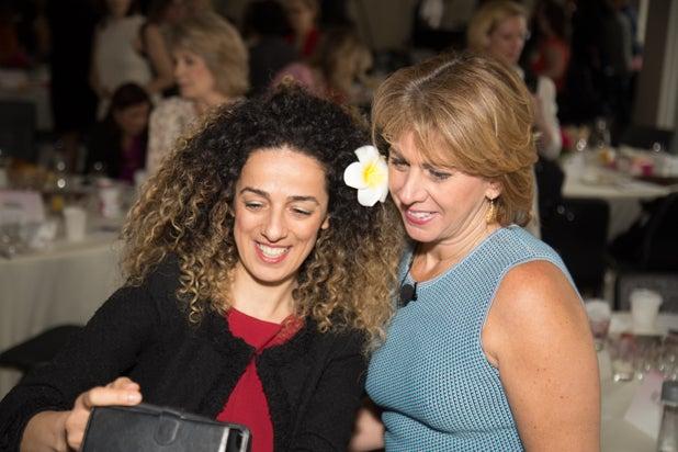 Masih Alinejad and Sharon Waxman, Power Women Breakfast D.C.