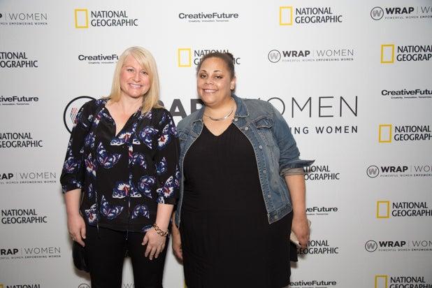 Leah Wojda and Kendrah Polk, Power Women Breakfast D.C.