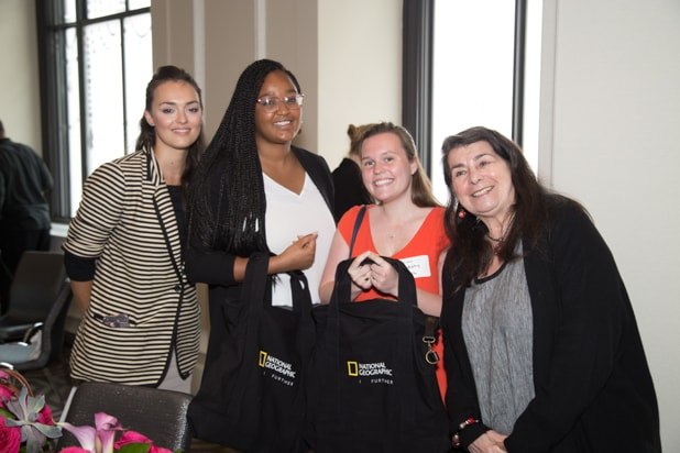 Murphy Shrub, Aviva Kempner and Guests at Power Women Breakfast D.C.