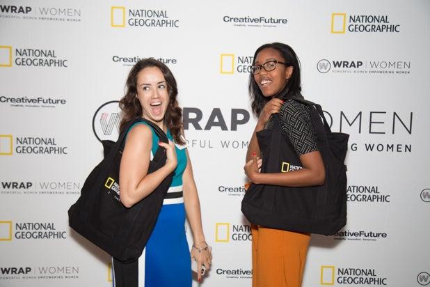 Megan Swiatowski and Chanda Daniels at Power Women Breakfast D.C., photographed by E. Brady Robinson for TheWrap