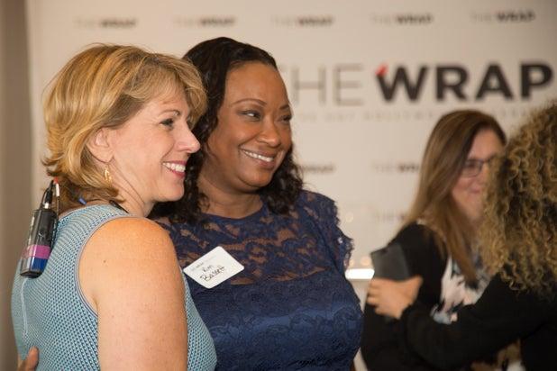Sharon Waxman and Kim Bassett, Power Women Breakfast