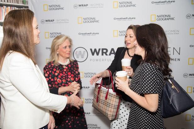 Michele Flournoy, Debbie Dingell, Susan Goldberg, and Courteney Monroe, Power Women Breakfast