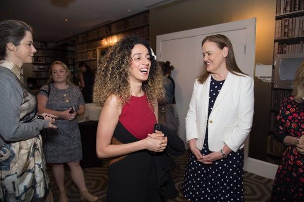 Masih Alinejad, and Michele Flournoy, Power Women Breakfast D.C.