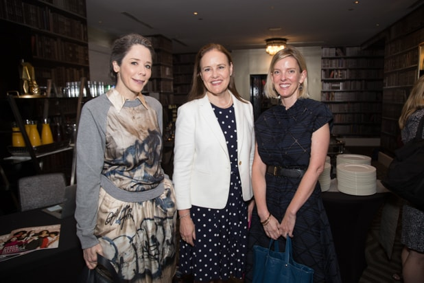 Michele Flournoy, Alice Keating, and Guest at Power Women Breakfast, DC