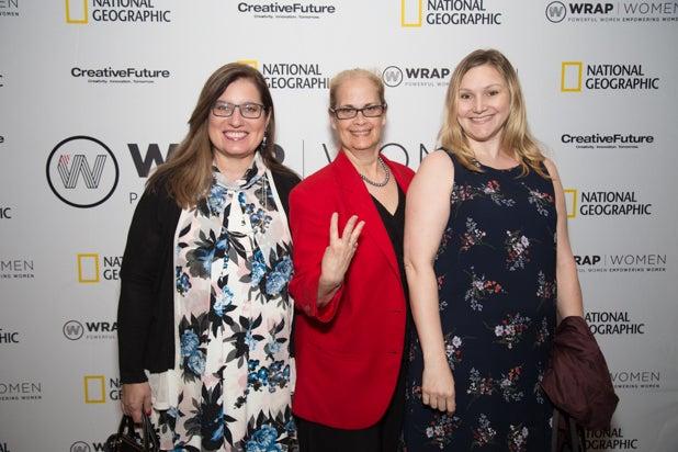 Penni Berbert, Jane Barbara and Guest at Power Women Breakfast, DC