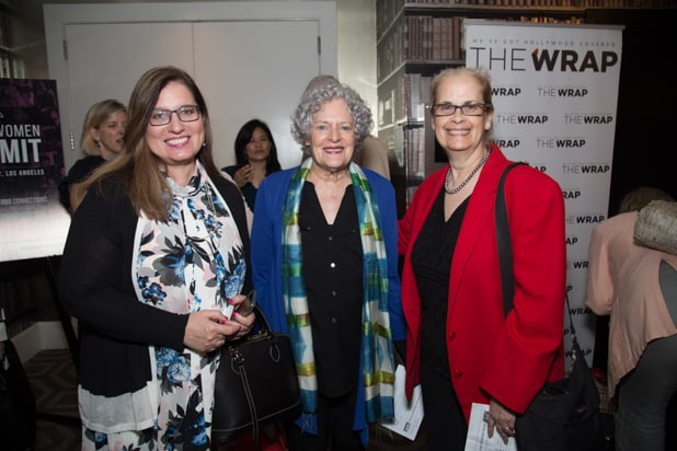 Rosemary Reed, Jane Barbara, and Guest at Power Women Breakfast D.C.
