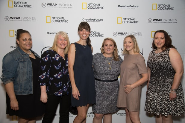 Kendrah Polk, Leah Wojda, Nicole Strong, Jennafer Bonello, and Melayne Cohen, Power Women Breakfast D.C.