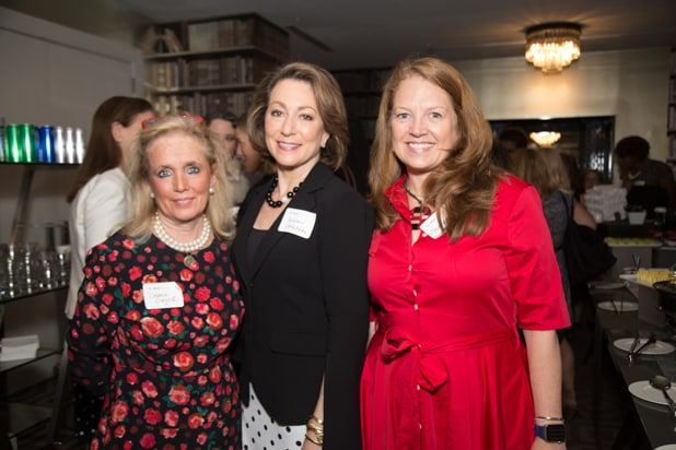 Debbie Dingell, Susan Goldberg, & Jill Cress at Power Women Breakfast, photographed by E. Brady Robinson for TheWrap