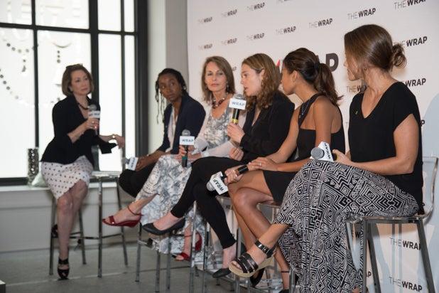 Susan Goldberg, Asha Stuart, Beverly Joubert, Erika Larsen, Hannah Reyes Morales, Jess Cramp, Power Women Breakfast D.C.