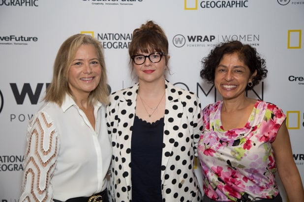 Hilary Rosen Political Commentator, Cnn & Partner An Managing Director, Skdnickerbocker, Amber Tamblyn Author And Actress and Sharyn Tejani Executive Director, Times Up Legal Defense Fund
