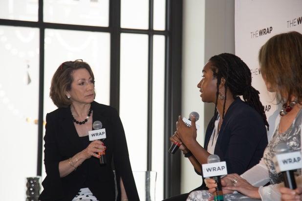 Susan Goldberg, Asha Stuart, and Beverly Joubert, Power Women Breakfast D.C.