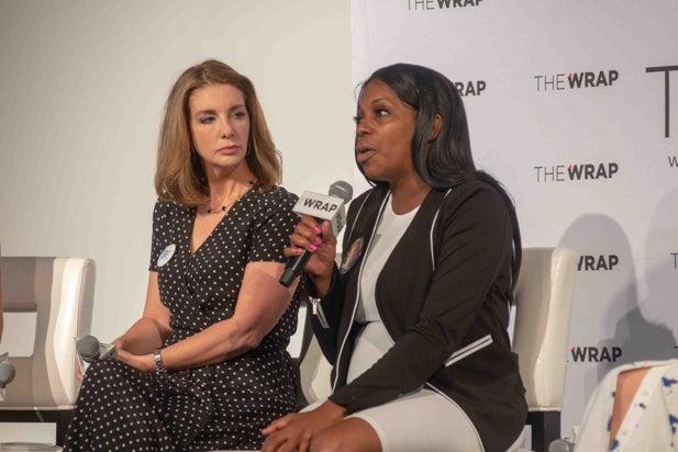 Shannon Watts and Shenee Johnson, Power Women Breakfast NY