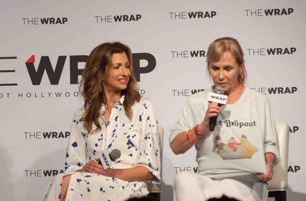 Alysia Reiner and Marti Noxon, Power Women Breakfast NY