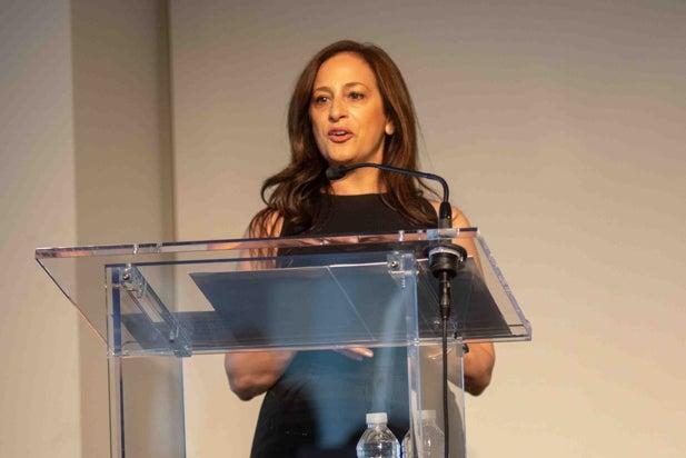 Jennifer Caserta at Power Women Breakfast, NYC 2018