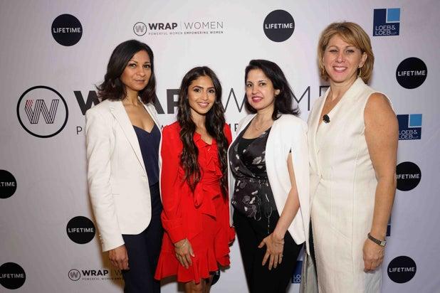 Payal Kadakia, Sharon Waxman, Power Women Breakfast, NYC 2018